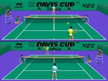 Davis Cup Tennis - Screenshot - Gameplay