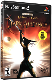 Baldur's Gate: Dark Alliance - Box - 3D