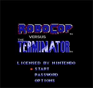RoboCop Versus The Terminator - Screenshot - Game Title