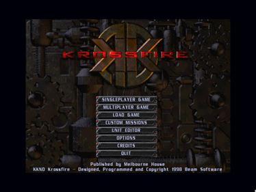 KKND2: Krossfire - Screenshot - Game Title