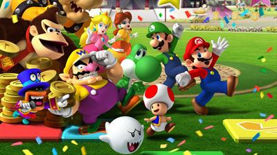 Mario Party 8 - Fanart - Background