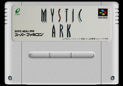 Mystic Ark - Fanart - Cart - Front