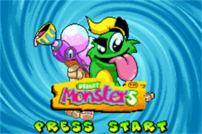 Planet Monsters - Screenshot - Game Title