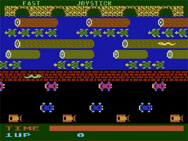 Frogger - Screenshot - Gameplay