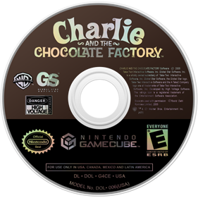 Charlie and the Chocolate Factory - Disc