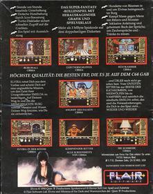 Elvira: Mistress of the Dark - Box - Back