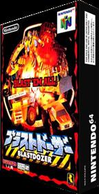 Blast Corps - Box - 3D