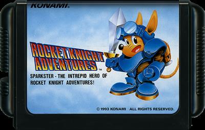 Rocket Knight Adventures - Cart - Front
