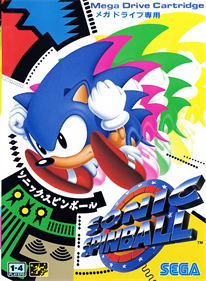 Sonic the Hedgehog Spinball - Box - Front