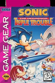 Sonic the Hedgehog: Triple Trouble - Fanart - Box - Front