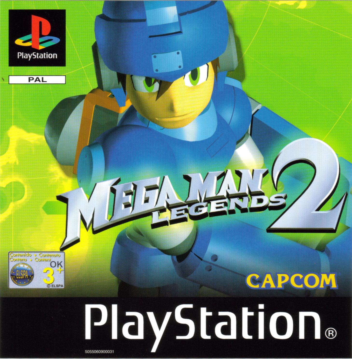 Mega Man Legends 2 Details