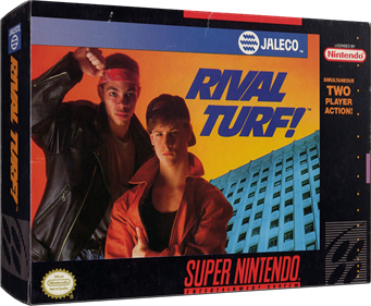 Rival Turf! - Box - 3D