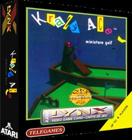 Krazy Ace Miniature Golf - Box - 3D