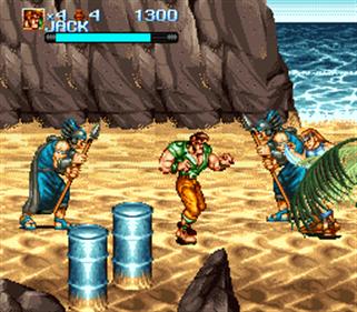 Iron Commando: Koutetsu no Senshi - Screenshot - Gameplay
