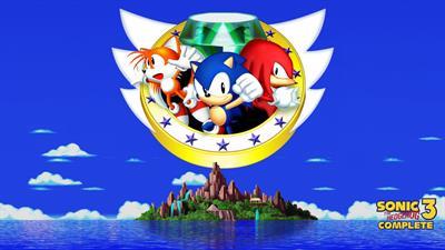 Sonic The Hedgehog 3 Complete - Fanart - Background