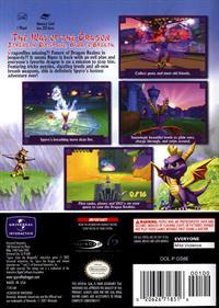 Spyro: Enter the Dragonfly - Box - Back