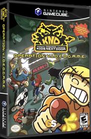 Codename: Kids Next Door: Operation: V.I.D.E.O.G.A.M.E. - Box - 3D