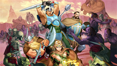 Dungeons & Dragons: Shadow Over Mystara - Fanart - Background