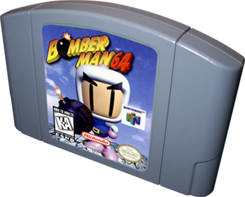 Bomberman 64 - Cart - 3D