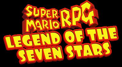 Super Mario RPG: Legend of the Seven Stars - Clear Logo