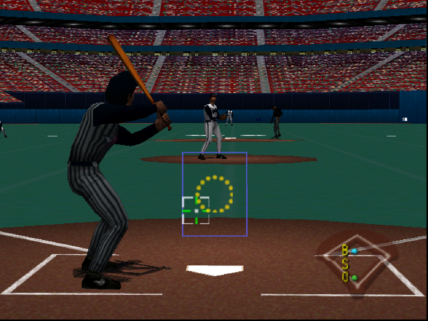 b98aea6e4e ... Major League Baseball Featuring Ken Griffey, Jr. - Screenshot -  Gameplay ...