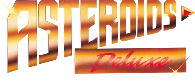 Asteroids Deluxe - Clear Logo