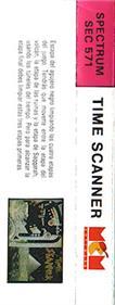 Time Scanner - Box - Back
