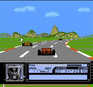 Al Unser Jr. Turbo Racing - Screenshot - Gameplay