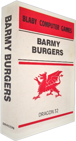 Barmy Burgers - Box - 3D