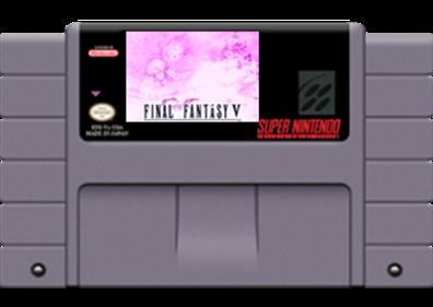 Final Fantasy V - Fanart - Cart - Front