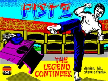Fist II: The Legend Continues - Screenshot - Game Title