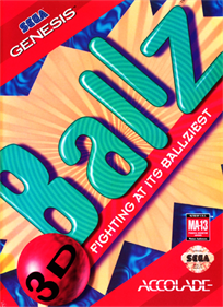 Ballz 3D: Fighting at Its Ballziest - Box - Front