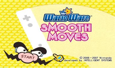 WarioWare: Smooth Moves - Screenshot - Game Title