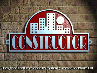 Constructor - Screenshot - Game Title