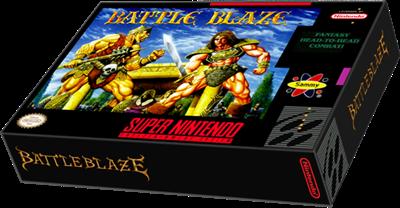 Battle Blaze - Box - 3D