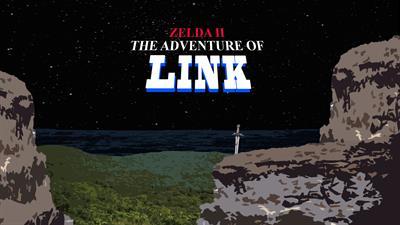 Zelda II: The Adventure of Link - Fanart - Background