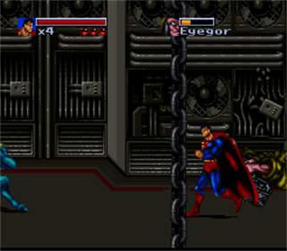 The Death and Return of Superman - Screenshot - Gameplay
