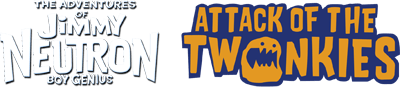 The Adventures of Jimmy Neutron Boy Genius: Attack of the Twonkies - Clear Logo