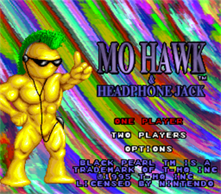 Mohawk & Headphone Jack - Screenshot - Game Title