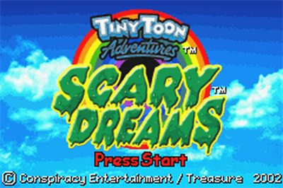 Tiny Toon Adventures: Scary Dreams - Screenshot - Game Title