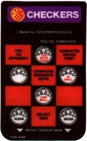 Checkers - Arcade - Controls Information