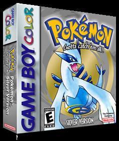 Pokémon Silver Version - Box - 3D