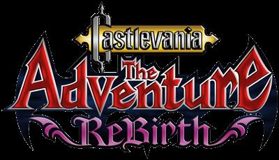 Castlevania: The Adventure ReBirth - Clear Logo