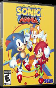 Sonic Mania - Box - 3D