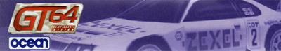 GT 64: Championship Edition - Banner