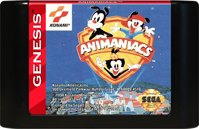 Animaniacs - Cart - Front