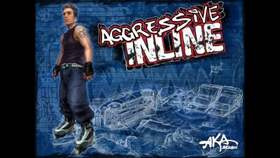 Aggressive Inline - Fanart - Background