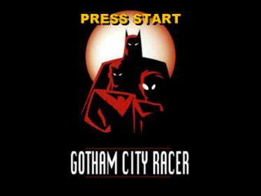 Batman: Gotham City Racer - Screenshot - Game Title