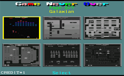 39 In 1 (MAME Arcade Classics Bootleg) - Screenshot - Game Select