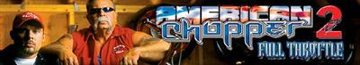 American Chopper 2: Full Throttle - Banner